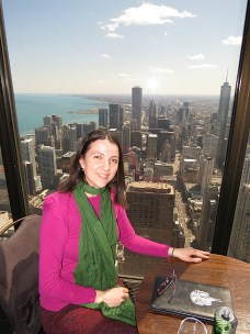 The Signature room at the 95th floor of John Hancock